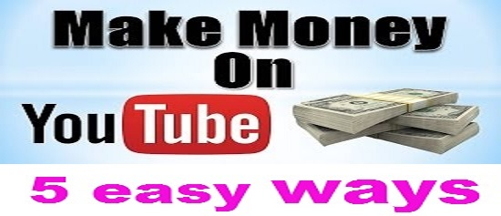 Money with YouTube videos