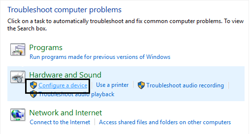 Using troubleshooter: Akeentech blog. Solve USB Device Not Recognized Error In Windows