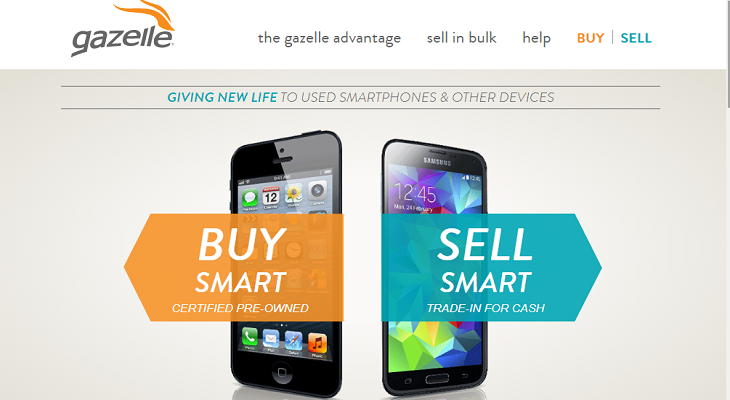 Gazelle selling stuff online and make money