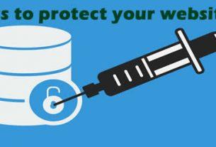 protect blog/website online