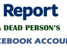 Memorialized account (dead person Facebook account)