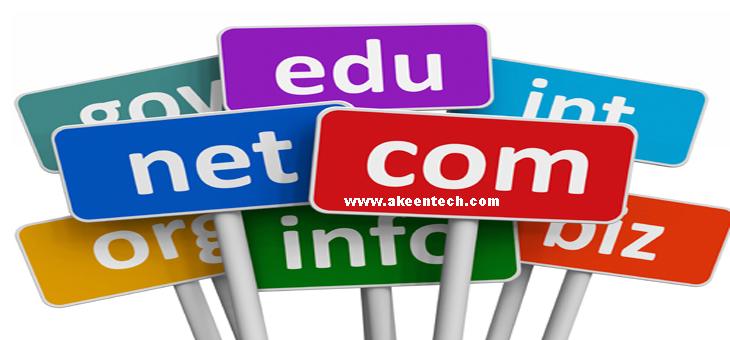 A good domain name: Akeentech blog